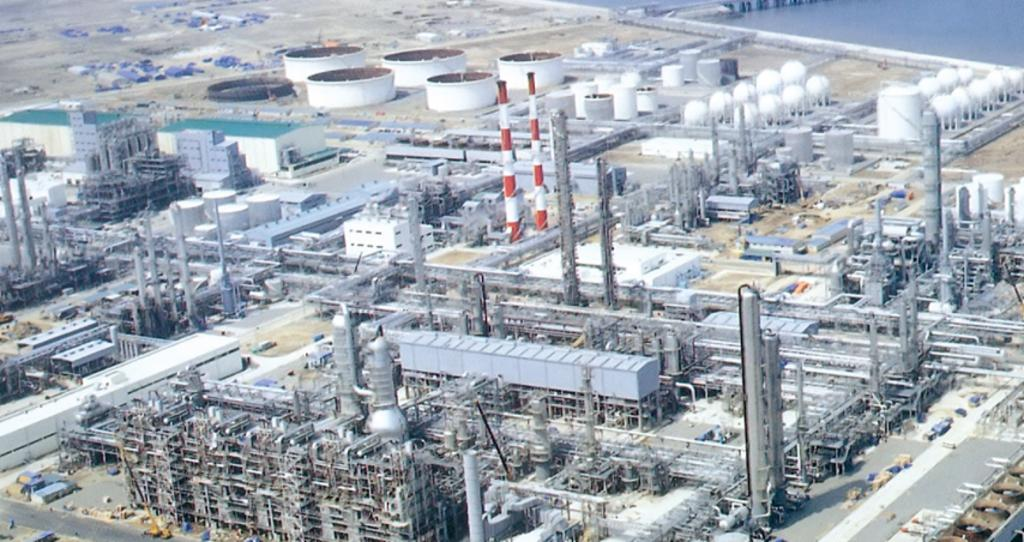 1988.11 Awarded Ethylene Utility plant from Samsung General Chemicals Corp.