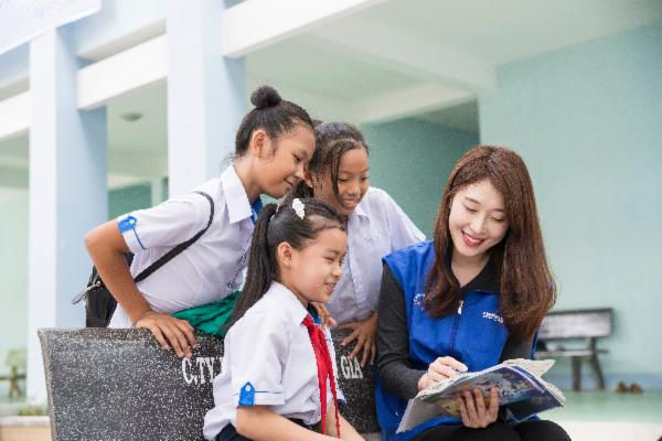 "Samsung Engineering builds ""Hope Library""for children in Vietnam"